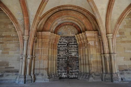 Maulbronn (Alemania). Monasterio. Portada de la iglesia