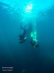 Asturiaga (YellowSingle 单黄) Tags: asturiaga fontarrabie spain scuba diving plongée gopro underwater