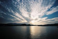sky crown (troutfactory) Tags: clouds sky beautiful 雲 dusk 景色 view landscape ocean sea 海 徳島 tokushima 四国 shikoku 日本 japan voigtlanderbessal 15mmheliar wideangle analogue film kodakportra800