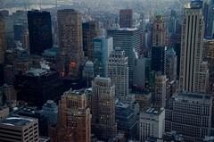 New York City Skyline (thomasdwyer) Tags: new york newyork nyc manhattan topoftherock rockefeller rockefellercentre skyline city urban america usa nikon d5100