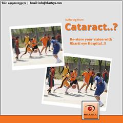 Cataract Surgery without Injection, Stitch & Bandages at Bharti Eye Foundation & Hospitals (bhartieye) Tags: cataract catract care bharti eye eyecare delhi