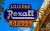 Soledad Rexall--DSC04244--Soledad, CA-1 (Lance & Cromwell back from a Road Trip) Tags: salinasvalley montereycounty soledadca neon rexall pharmacy drugstore sony sonyalpha a77ii fe24240mm