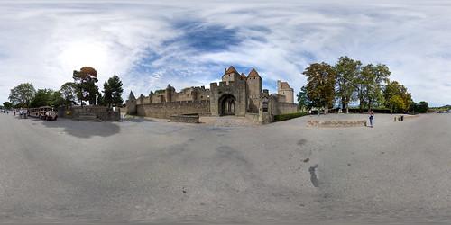 Cité de Cracassonne - Vue Générale