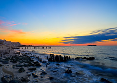 Worn down at Wildermeer beach (Singing With Light) Tags: 2016 28th alpha6000 mirrorless singingwithlight sonya6000 wildermerebeach august photography singingwithlightphotography sony sunrise walnutbeach