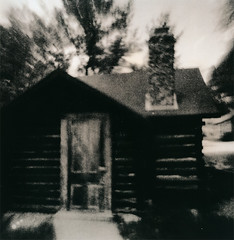 Zeke's Not Home (micalngelo) Tags: analog agfa agfaisoly agfaphotography lith lithprocess alternativephotography alternativeprocess hp5film