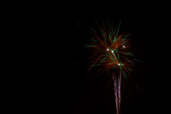 Fireworks (yannickjacobs) Tags: 1855mmf3556 2016 d5300 december happynewyear holland nl nederland netherlands newyear newyearseve nikkor nikon oudnieuw valkenswaard color evening green light night sky