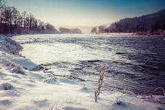 River Dunajec (d2luk) Tags: polska słowacja poland slovakia 2017 rzeka river śnieg snow blue granica porder dunajec pieniński park narodowy national zima winter sromowce niżne czerwony klasztor cerveny klastor water woda