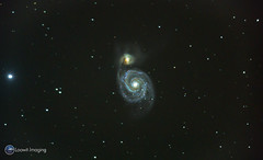 Messier 51 - The Whirlpool Galaxy (Loowit Imaging - Steve Rosenow, Photographer) Tags: space science astronomy astrophotography deepsky deepspace meade meadelx200 nikon nikond5500 galaxy messier messierobject charlesmessier messiercatalogue m51 messier51 thewhirlpoolgalaxy astrometrydotnet:id=nova1901431 astrometrydotnet:status=solved