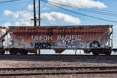 (o texano) Tags: houston texas graffiti trains freights bench benching mage