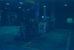 Gas Station - aka I have no memory of this shot (a.ninguem) Tags: pentax k1000 film kodak color filme analogic analógico gas station