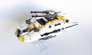 Galactic Mining Federation LAS-01 Light assault shuttle