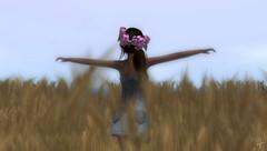 She's like the wind... (VeraCruza) Tags: gabriel fashion french flickr scene sl secondlife slfashion fashionart flickrunitedaward slblues bellesparisiennes