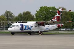 UR-UTF ATR.42-300 UTair Ukraine @ Mnchengladbach 02-May-2015 by Johan Hetebrij (Balloony Dutchman) Tags: ut air ukraine 42 atr 2015 atr42 monchengladbach stored utair atr42300 urutf