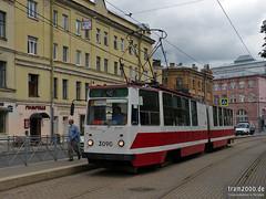 St. Petersburg (RUS) (Robert Leichsenring) Tags: russia tram petersburg streetcar tramway strassenbahn tramvaj tranvia tramwaj russland россия трамвай санктпетербург strasenbahn