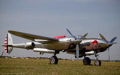 Lockheed P-38 Lightning (Dan Elms Photography) Tags: canon airshow legends static duxford canondslr flightline flyinglegends 600d staticdisplay duxfordairfield canon600d canoneos600d danelms talldan76 danelmsphotography flyinglegends2015 flightilywalk