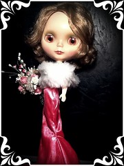 Blythe-a-Day July #18 There's Something on Your Face & #21 Fur: Angel's Early Stardom