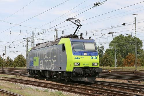 BLS Re 485 010-3 Basel Bad Bhf