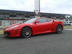 F430 (xwattez) Tags: auto france car italian parking ferrari voiture transports f430 2015 italienne vhicule rassemblement launaguet simplymarket