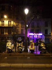 All-In (Toni Kaarttinen) Tags: paris france night lights evening frankreich sexshop frana scooter montmartre scooters frankrijk prizs francia iledefrance parijs parisian pars  parigi frankrike pigalle  pary   francja ranska pariisi  franciaorszg  francio parizo  frana