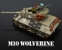 M10_wolverine_03 (bijanz) Tags: usa army tank lego military worldwar wolverine m10 legotank