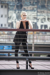 2015_07_30 Georgia W 406 WM (Sendall) Tags: portrait sexy london beautiful beauty fashion thames river gorgeous location blonde stunning editorial canarywharf androgyny androgynous isleofdogs