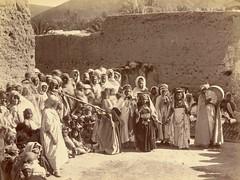 Awlad Nal Ceremony, Biskra, Algeria, End of Nineteenth century (Benbouzid) Tags: awlad nail nayel biskra danceuse qayta ghayta zorna baroud bendir burnous chachiya ouled