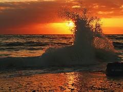 Durras dawn, South Coast NSW Australia (PC100270) (colourbycodes) Tags: seascapes places water waves nsw nature eurobodalla beaches ocean australia