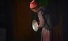 The polished butter lamp, India 2016 (reurinkjan) Tags: india 2016 ©janreurink himachalpradesh spiti kinaur ladakh kargil jammuandkashmir sheymonastery sheypalace woman polishedbutterlamp