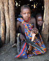 ethiopia - omo valley (mauriziopeddis) Tags: africa etiopia ethiopia mursi tribe tribal ethnic people reportage village canon leica sl ritratto portrait