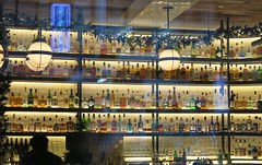 Cold Colours - A Drink to Warm Up (Pushapoze (MASA)) Tags: newyorkcity restaurant bar bottles bouteilles drinks liqueur
