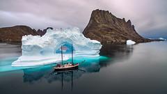The Arctic Express (orvaratli) Tags: greenland sailboat schooner iceberg expedition explore photo tour remote adventure photography landscape scoresbysund arctic