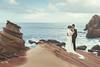 [somewhere in Taiwan] 蝕 (pooldodo) Tags: wedding prewedding taotzuchang pooldodo bride groom rock sky ocean 婚紗 破渡