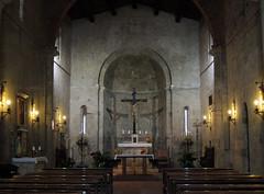 Lucignano d'Arbia - Pieve di San Giovanni Battista (anto_gal) Tags: toscana siena 2016 monteroni arbia lucignano pieve chiesa sangiovanni battista romanico interno