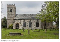 All Saints, South Leverton, Nottinghamshire (Paul Simpson Photography) Tags: paulsimpsonphotography sonya700 southleverton nottonghamshire church religiousbuilding 2010 history historic spring imagesof imageof photosof photoof religion tower flowers daffodils graves headstone tree