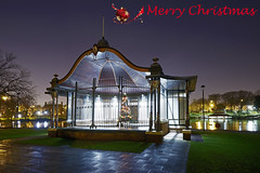 The Bandstand, The Arboretum, Walsall 23/12/2016 (Gary S. Crutchley) Tags: bandstand band stand arboretum christmas xmas park tree uk great britain england united kingdom urban town townscape walsall walsallflickr walsallweb black country blackcountry staffordshire staffs west midlands westmidlands nikon d800 history heritage local night shot nightshot nightphoto nightphotograph image nightimage nightscape time after dark long exposure evening travel street slow shutter raw 1635mm f40g af s ed nikkor