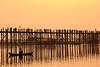 U Bein bridge (Andres Pela) Tags: myanmar amarapura mandalay asia bridge puente madera sunset atardecer taungthaman lake travel viajar canon 6d ngc