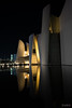Reflections (photographyzimbo) Tags: 2017 201701 color gear mexico museointernacionaldelbarroco puebla sonyalpha7rii when zeissbatis25mmf20 abstractphotography architecturalphotography building camera christmas daytime lamp lens night nightphotography reflection seasons streetphotography wall warmcolors water white wideangle winter yellow heroicapuebladezaragoza mx