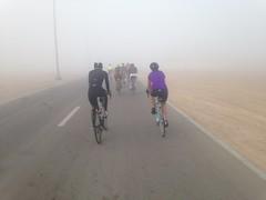 Foggy Friday Chain Gang Ride on Al Ain, 13 Jan 2017 (Patrissimo2017) Tags: foggy fog cycling