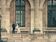 Paris wedding (justmyfotozz) Tags: paris france louvre wedding mariage marriage girl boy couple love amour cityoflights parisse french lafrance lelouvre palais amor loving frenchies francia franciaország