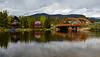 A tranquil morning on the lake, Grand Lake Colorado (Gail K E) Tags: colorado grandlake rmnp usa rockymountains mountainlake bridge