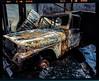 Jeep in the Garage (Irresponsible Imaging) Tags: irresponsibleimaging film fineartonfilm filmcamera fineart fujivelvia50 mamiya mamiyarz67proii analog analogue fire jeep gatlinburgtn areyounotentertained