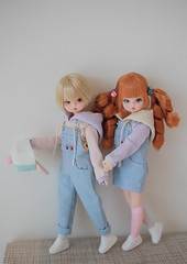 Cosette (One-off) (Malang*) Tags: petitechica cosette dollcosette cosettedoll ooak dollfaceup dollmakeup oneoff