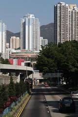 Kwun Tong Road at Kowloon Bay station (Marcus Wong from Geelong) Tags: kowloonbay hongkong hongkong2013