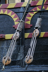 String or rope - for ODC (jimj0will) Tags: odc rope string london goldenhinde ancient ship