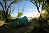 Te Pukatea (seflick) Tags: abeltasmannationalpark tent sea sunrise beach newzealand