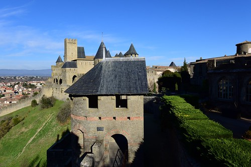 Carcassonne, Languedoc-Roussillon, France, January 2017 439