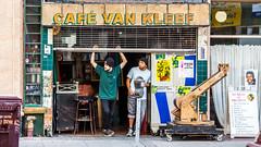 Cafe Van Kleef (Thomas Hawk) Tags: cafevankleef california eastbay johannesmersehle oakland oaklandriots oaklandriots2010 oscargrant usa unitedstates unitedstatesofamerica bar oaklandca070810 protest riot riots fav10 fav25