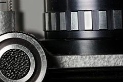 Focus Stacked Macro of my Macro Bellows and Enlarger lens (RobGreenow) Tags: macro macrolens macrosunday focusstacked focusstack focusstacking canon5dmarkiii canon sigma 105mm tripod flash macroflash bellows enlarger gear gearing wheel metal old