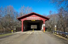 Lake of the Woods Covered Bridge (ryancondronphotography) Tags: winter bridge structure coveredbridge mahomet illinois unitedstates us lakeofthewoods places