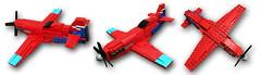 Tsunami Racer (tbone_tbl) Tags: lego air racer airplnae airplane races race reno foitsop